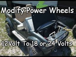 how to modify 12v to 18 or 24 volts easy ford raptor f 150 power how to modify 12v to 18 or 24 volts easy ford raptor f 150 power wheels conversion