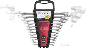 <b>Набор гаечных ключей Thorvik</b> W3S12PR 6-22 мм, 12п купить в ...