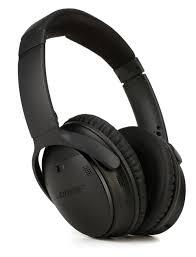 bose 789564 0010. bose quiet comfort 35 wireless headphones ii - black image 1 789564 0010