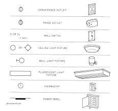 light wall sconce symbol elegant blueprint abbreviations light electrical