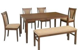 bench table set argos dining and chairs kitchen astonishing black round sets amazing extending solid