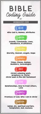 Color Coding Bible Study Related Keywords Suggestions