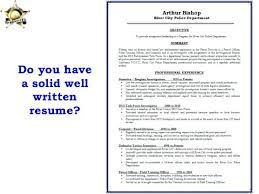 Examples Of Well Written Resumes Adorable Promotion Resume Resume Program Coordination And Promotion Susan