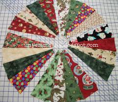 the batting and the backing and stitched in the ditch to quilt it before adding the center circle i loved the part about gathering the round center