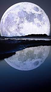 Super Moon Water Reflection iPhone 6 ...
