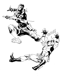 Small Picture SnakeEyes Vs ZartanWhos Cooler Robert Atkins Art