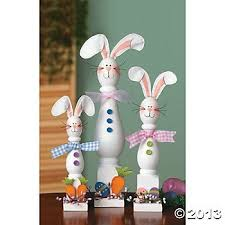 Rabbit Decorative Accessories christmas spindle crafts Spindle Bunnies Decorative Accessories 8