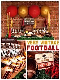 Super Bowl Party Decorating Ideas Superbowl Decorations Super Bowl Decor Idea Easy Super Bowl Party 6