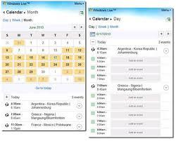 Free Online Calendar Windows Live Calendar