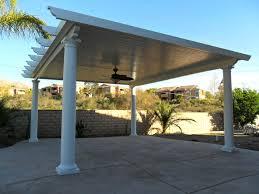 free standing aluminum patio cover. Free Standing Solid Alumawood Patio Cover - Riverside, CA Aluminum L