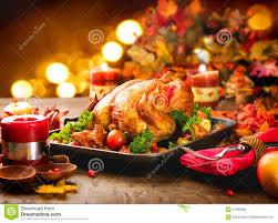 thanksgiving turkey dinner table. Modren Dinner Thanksgiving Dinner Table Served With Turkey On Turkey Dinner Table