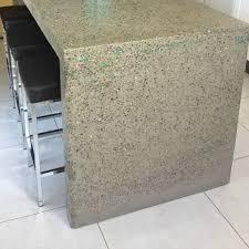 concrete kitchen bench concrete furniture with glass