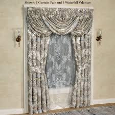 Wide Window Treatments jordyn olivia damask window treatment by j queen new york 6628 by guidejewelry.us