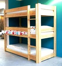 three tier bunk bed level beds bedding sets for boy and girl triple
