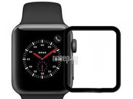<b>Аксессуар Защитное стекло Krutoff</b> 3D Full Cover для Apple Watch ...