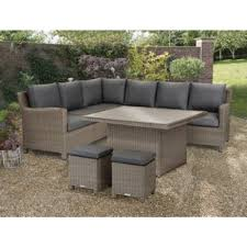kettler palma cal dining corner in rattan wicker special pack includes table