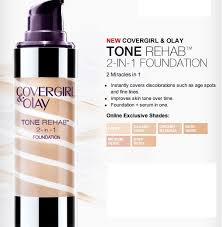 Covergirl Simply Ageless Foundation Color Chart Details About Covergirl Olay Tone Rehab 2 In 1 Foundation Please Select Shade From Menu
