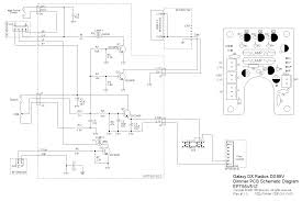 galaxy radios dx99v service manual dimmer pcb schematic diagram