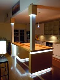 image contemporary kitchen island lighting. LED Kitchen Island Lighting Contemporary-kitchen Image Contemporary