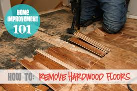 home improvement how to remove hardwood floors