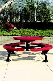 regal picnic table round web