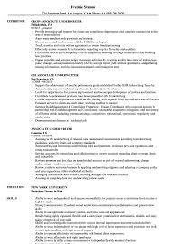 Underwriting Resume Examples Associate Underwriter Resume Samples Velvet Jobs 14