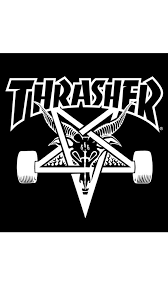 Thrasher Logo iPhone Wallpaper | Thrasher | Pinterest | Thrasher ...