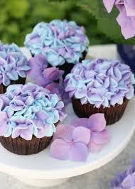 Hydrangea Cupcakes Glorious Treats
