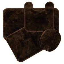 brown bath rug set stunning brown bathroom rugs with yellow bathroom dark brown bathroom rugs home