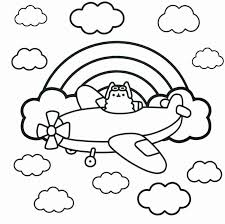 Pusheen Coloring Pages Best Of Coloring Pages Cats Archaicfair Cat