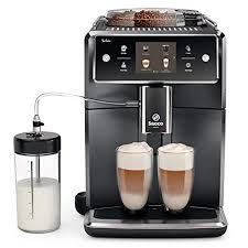 Espresso coffee can be made with a wide variety of coffee beans and roast degrees. Saeco Xelsis Superautomatic Espresso Machine Seattle Coffee Gear