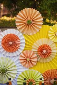 diy construction paper fan for birthday parties n weddings decoration you