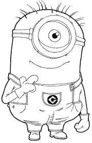 Pictures Of Despicable Me 2 Coloring Pages For Kids Rock Cafe