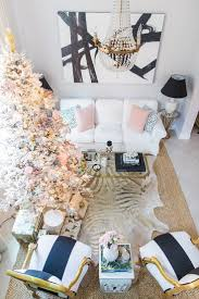 Palm Beach Lately decorates with pineapples and palms for Christmas; Blush,  black, white