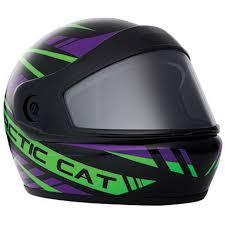 Arctic Cat Youth Pfp Helmet Purple M