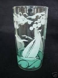 8 oz drinking glasses ounce plastic retro set of 5 sailboat tumblers