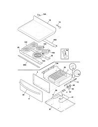 plef398ccd electric range top drawer parts diagram
