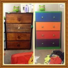 Ninja Turtle Bedroom Decor Upcycled This Old Dresser Into A Teenage Mutant Ninja Turtles