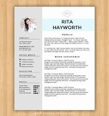 Ms Word Resume Template The Best Way To Write Resume Template With
