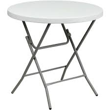 round plastic folding tables picnic foldg rlz round plastic folding tables