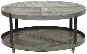metal round coffee table base only portable for grey steel