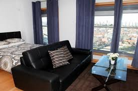 ... how to set up furniture in a studio apartment ...