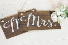 mr and mrs signs rustic wooden wedding signs wedding chair signs wedding decor boho wedding photo prop signs bridal gift