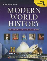 World History Textbook Patterns Of Interaction Fascinating Holt McDougal World History Patterns Of Interaction Florida