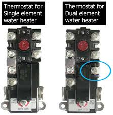 how to select and replace thermostat on electric water heater Wiring Diagram 240v Hot Water Heater single element dual element larger image wiring diagram for 240v hot water heater
