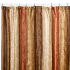 coral and brown shower curtain. manor hill® sierra copper 54-inch x 78-inch fabric shower stall curtain coral and brown l