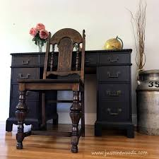 black painted furnitureThe Best Black Distressed Painted Furniture Makeovers