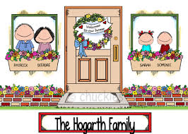 New Home Cartoon Images New Homechuckies Cartoons Personalised Picture Gifts