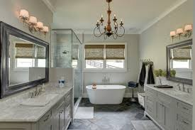 here design and electrical professionals share what you need to know to select and install a chandelier in your bathroom