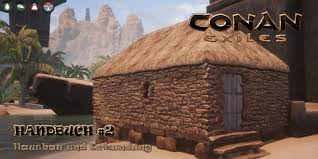 Thralls are npcs which can be captured and then placed in the player's camp to either craft items or defend it against invasions depending on the type of thrall it is. Conan Exiles Handbuch 2 Hausbau Und Erkundung Int Ent News